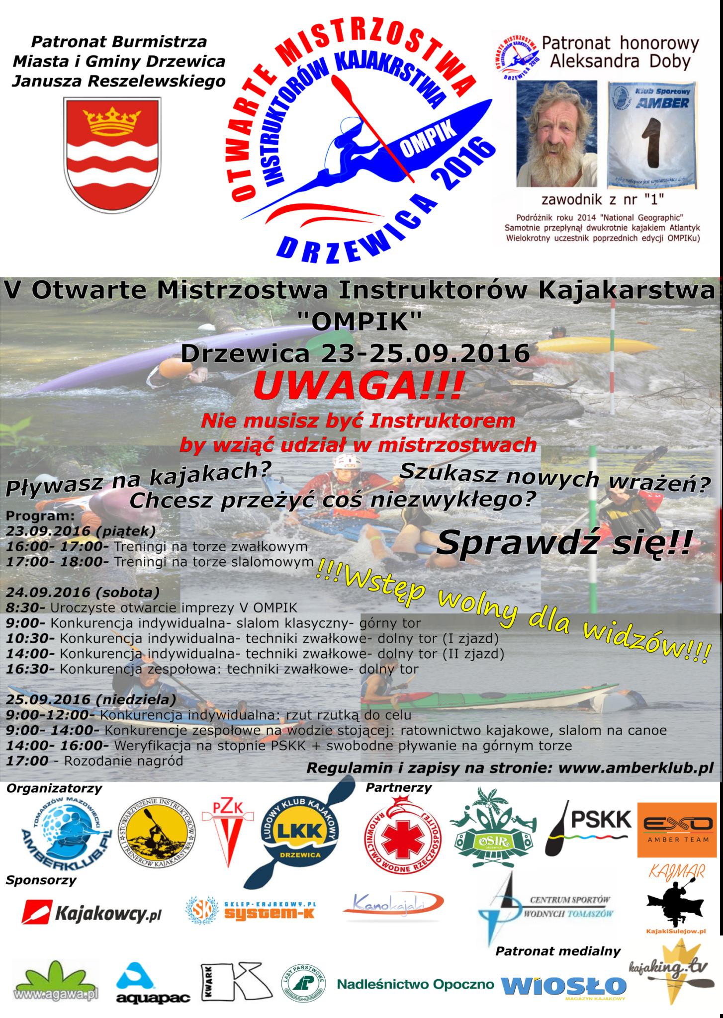 Plakat V OMPIK Drzewica 2015